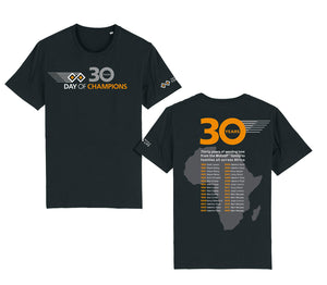 Day of Champions special edition 30 year anniversary tee