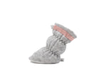 Paige - Heather Grey w/Blush Trim Basic Bootie