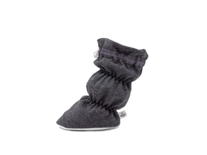 Milo - Charcoal Grey Basic Bootie