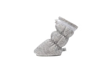 Payton - Heather Grey with White Trim Basic Bootie