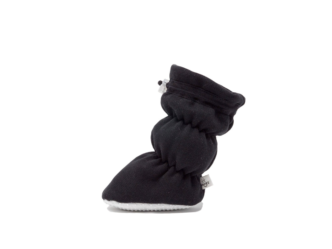 Vivi G'z Black Fleece Basic Baby Bootie