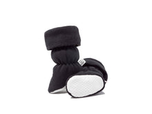 Alex - Black Toggle Cuff Baby Bootie