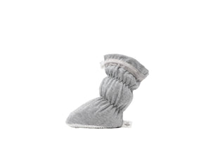 Theo - Heather Grey Basic Bootie