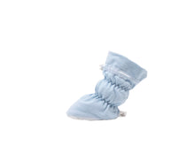 Simon - Light Blue Basic Bootie