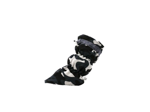 Patton - Black Camo Basic Bootie