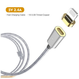 3 in 1 Magnetic Cable-Micro USB, Fast Charge, Reversible