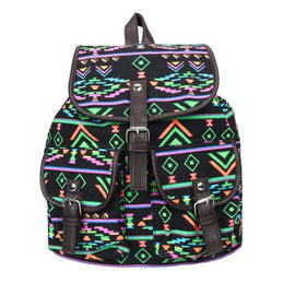 Casual Satchel Canvas Backpack