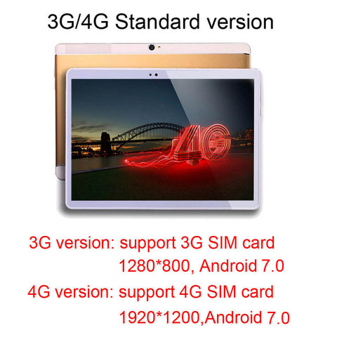 10 inch 4G Tablets Octa Core