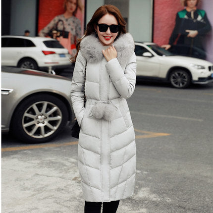 Fur Collar Down Jacket