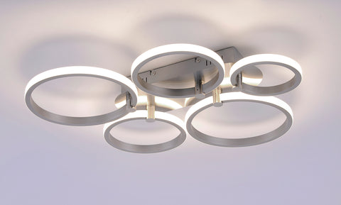 5 Ring LED Ceiling Light