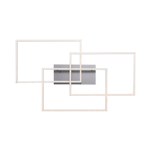 Iron Rectangular LED Ceiling Light