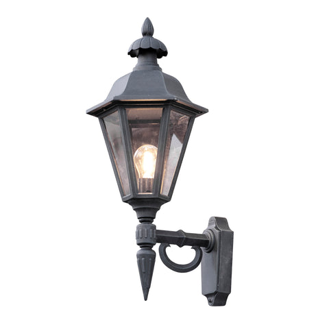 Pallas 481 Up Wall Light Matt Black