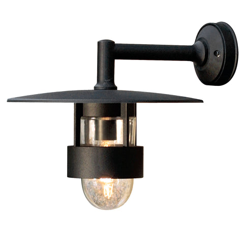 Feja 504 Down Wall Light Matt Black