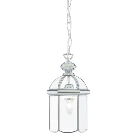 LANTERN CHROME DOMED 1 LIGHT