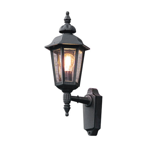 Pallas 519 Up Wall Light Matt Black