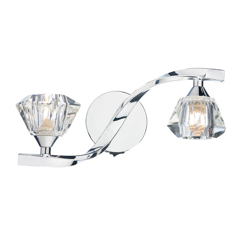 Ancona Double Wall Bracket Polished Chrome