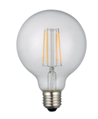 Pack of 6 LED E27 Medium Globe Bulbs
