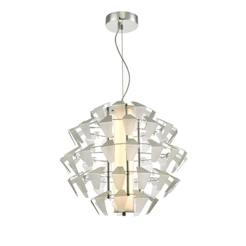 Falcon 1lt Pendant Suspension Acrylic 35w LED