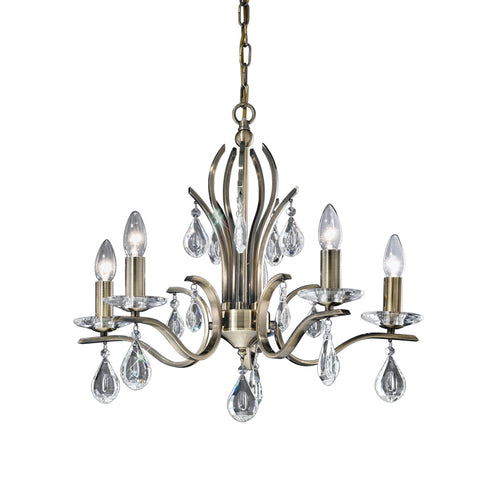 Aspen 5 light Fitting