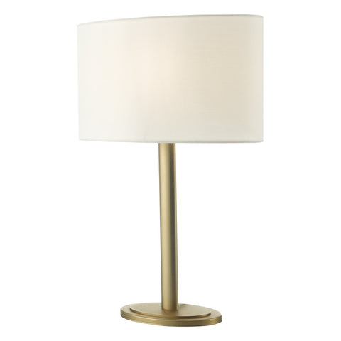Shubert Table Lamp Bronze With Shade