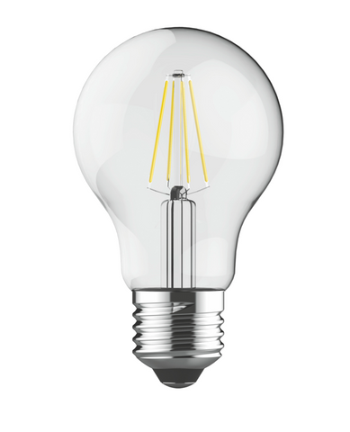 Pack of 5 LED 6.5 Watt E27 Clear Filament bulbs