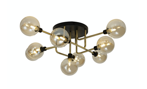 Cario 9lt Flush Ceiling Light