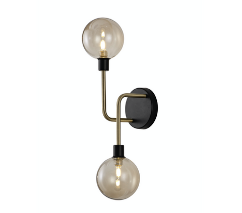 Cario 2lt Wall Light