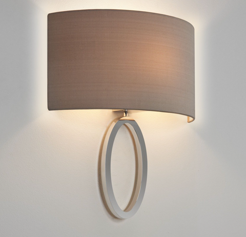 Lima 1lt Polished Chrome Wall Lamp