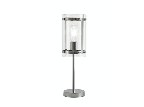 Accord 1lt Polished Chrome Table Lamp