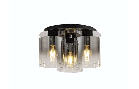 Zuma 3lt Flush Ceiling Light