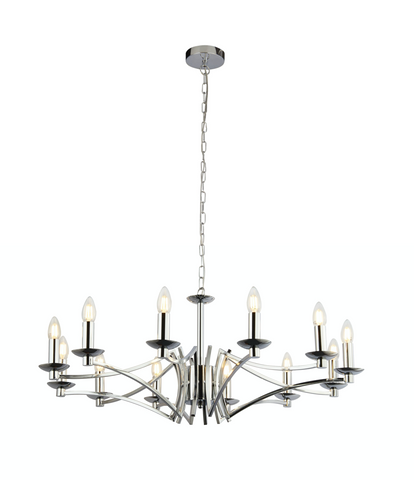 BOUND 12LT PENDANT - POLISHED CHROME