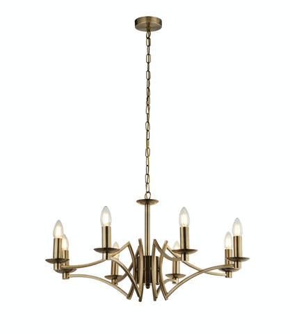 BOUND 8LT PENDANT - ANTIQUE BRASS
