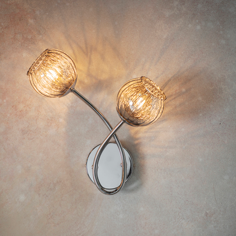 Aerith 2lt Wall Light