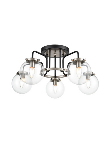Atom 5lt Semi Flush Ceiling Light