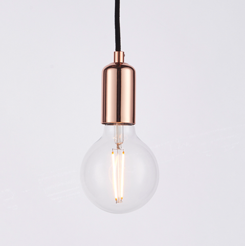 Studio 3 Light Copper Pendant