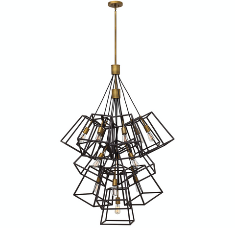 Fulton 13 Light Large Foyer Chandelier