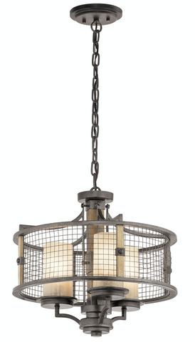 Ahrendale 3 Light Duo-Mount Chandelier