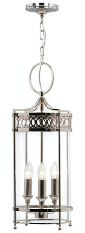 Guildhall Pendant – Polished Nickel