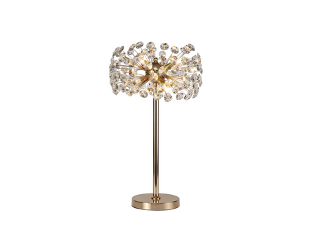 Starburst Table Lamp - French Gold