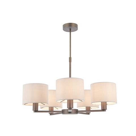 Daley 5 Light Pendant - Antique Bronze