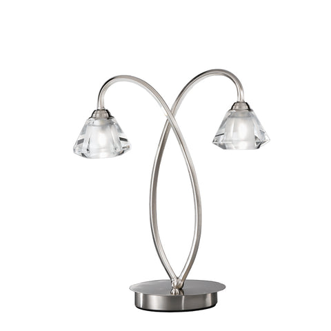 Twista 2 light Table Lamp