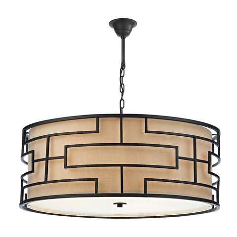 Tumola 6 Light Pendant Bronze