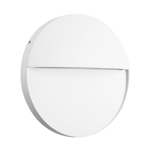 Baker Wall Lamp Large Round, 6W LED, 3000K, 275m, IP54, Sand White, 3yrs Warranty