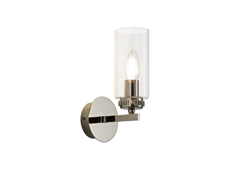 Darla 1lt Wall Lamp - Polished Nickel