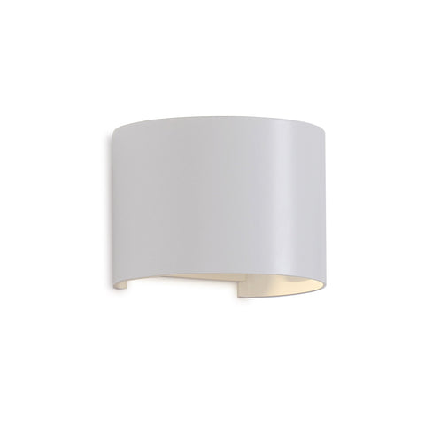Davos Round Wall Lamp, 12W LED, 3000K, 1100lm, IP54, Sand White, 3yrs Warranty