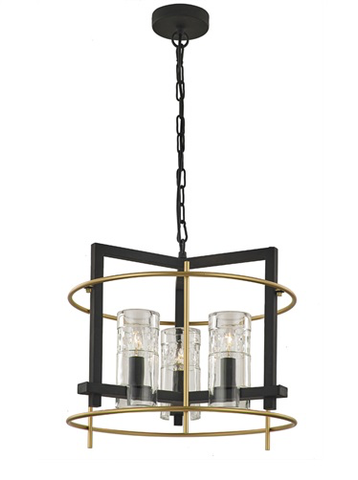 Bistro 3 light Pendant