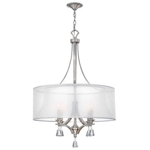 Mime 4 light Mime Pendant Chandelier