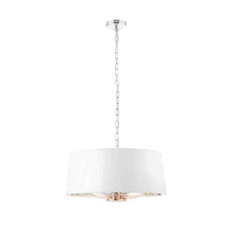 Harvey 3lt pendant nickel 40W