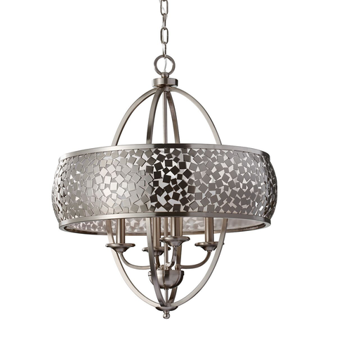 Zara Large 4 Light Chandelier