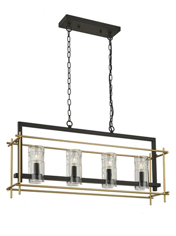 Bistro 4 light Pendant
